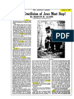 The Number Six Million, 1919(!) ----------The Crucifixion of Jews Must Stop! (Martin H. Glynn - 1919)