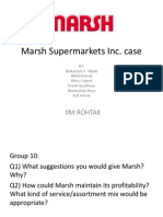 Marsh Supermarkets Inc Case