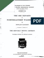 USGS Bulletin 550 The Ore Deposits of Northeast Washington