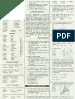 Solucionario de Examen de Admisión UNFV 2009-I