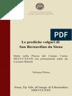 Le prediche volgari di S. Bernardino da Siena – 1