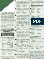 Solucionario de Examen de Admisión UNFV 2012