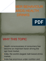 Health Drinks Ppt