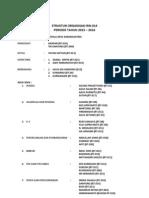 Struktur Organisasi Rw
