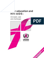 Peer Education Un Aids