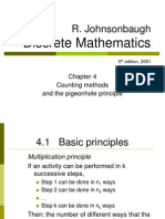 ch4- Counting principle
