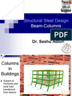Topic Beam Columns