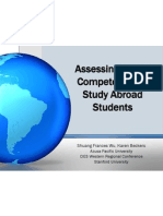 global learning and competence presentation