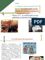Thème 2- Le conflit social  pathologie ou facteur de cohésion sociale