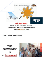 NaFFAA FilAm Vote - Position Paper for 10th NaFFAA Empowerment Conference, Detroit, Michigan