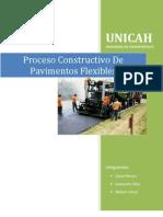 Proceso Constructivo Pavimento Flexible