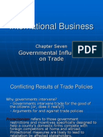 Ch07 Governmental Influence on Trade