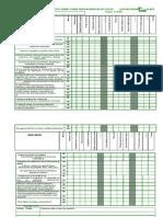 1º ESO TABLA MATRIZ DE DIAGNOSTICO EVALUACION COMPETENCIAS  2ª evaluación