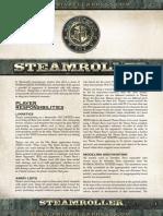 Steamroller 2013 Rules