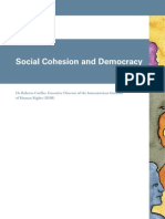 Social Cohesion and Democracy