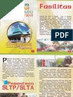 Brosur Pesantren Darunnajah Cipining Bogor Tahun 2009-2010