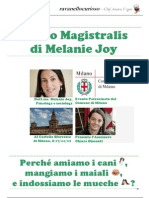 Conferenza Melanie Joy