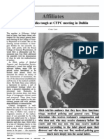 Ivan Illich Talks Tough at CFPC Meeting in Dublin