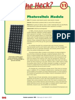 What the Heck is Photovoltaic Module