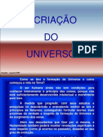 A Criacao Do Universo