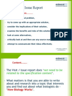 Issue Report Powerpoint for Students