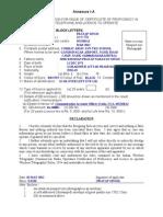 Ann_ 1a - Pratap-rtr Licence
