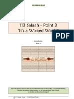 113 Salaah - Point 3 - It's a Wicked World