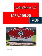 American Cooling Systems, Fans Cataalog