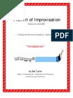 The Art of Improvisation - Book 1
