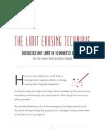 Limit Erasing Technique