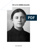 St. Gemma Galgani, Biography