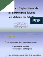 Cours 1 Somnolence exploration et conséquences DU Physio Lyon