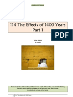 114 the Effects of 1400 Years - Part 1