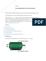 System Identification Toolbox - DC Motor