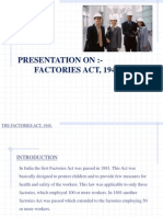 Factories Act Ppt