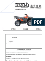 MXU500 Parts