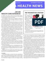 Africa Health News September-October 2008