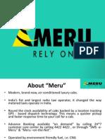Meru Cab