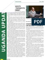 Uganda Update Fall 2008