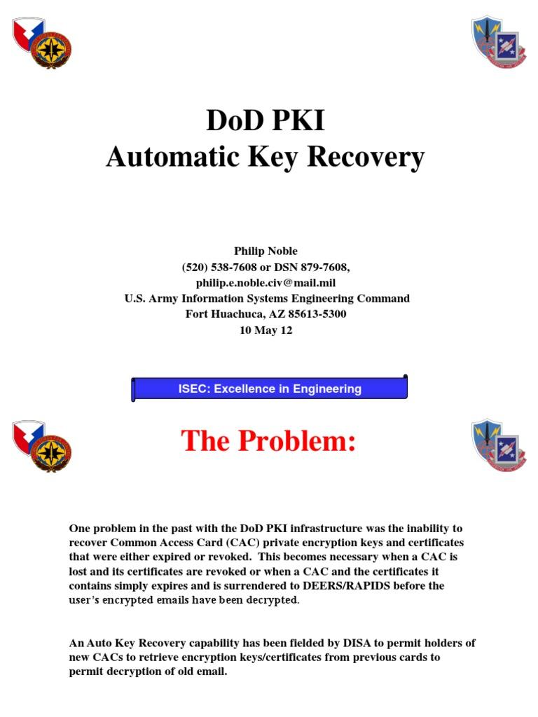Automatic key recovery new public key certificate key automatic key recovery new public key certificate key cryptography xflitez Gallery