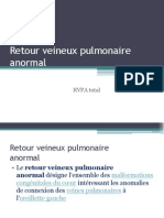Retour Veineux Pulmonaire Beta 2