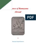 Influence of Ramayana Abroad
