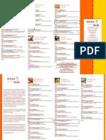Menu Con Calorie Per Paninoteca Elaborato Da MENUTRIX