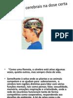 Estímulos cerebrais na dose certa