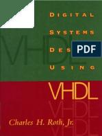 Digital Systems Design Using VHDL Charles Roth