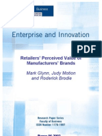 Retailers Perceived