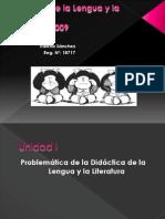 Didáctica de la Lengua y la Literatura.pomer point