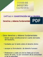 Power Point Derechos y Deberes de Los Fieles 28.9.11