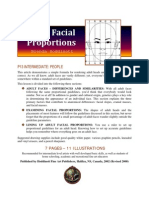 Adult Facial Proportions