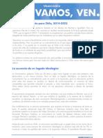 Documento Programatico del pre-Candidato Presidencial Chileno Andrés Velasco